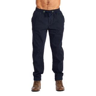 OTB Men's Navy Cotton/Spandex Joggers|https://ak1.ostkcdn.com/images/products/12118671/P18978592.jpg?impolicy=medium