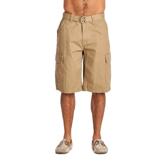 OTB Light Coffee Cotton Cargo Shorts