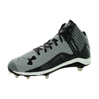 Under Armour Men's Yard Mid St Bbg/Black Baseball Cleat