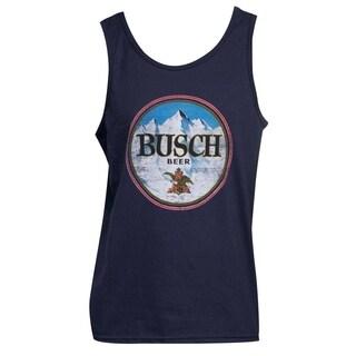 Men's Busch Blue Cotton Tank Top