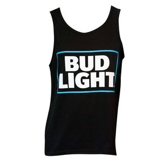 Men's Bud Light Black Cotton Tank Top