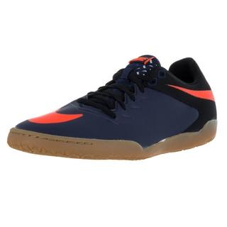 Nike Men's Hypervenom Pro Ic Mid Navy/Orange/Black/Gm Lght B Indoor Soccer Shoe