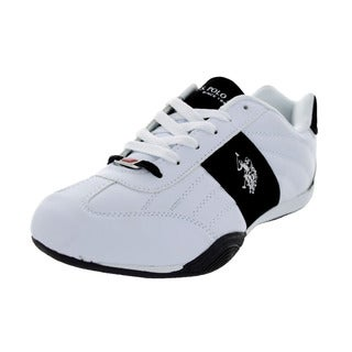 U.S. Polo Assn. Men's Sparrow White/Black Casual Shoe