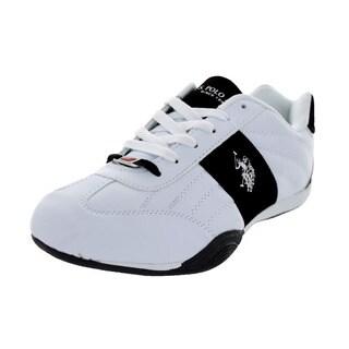 U.S. Polo Assn. Men's Sparrow White/Black Casual Shoe