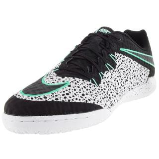 Nike Men's Hypervenomx Finale Ic White/Black/Green Glow/White Indoor Soccer Shoe
