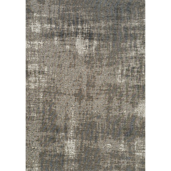 Shop Curio Grey Tree Bark Rug 5 1 X 7 7 Free Shipping