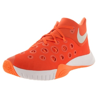 Nike Men's Zm Hyperquickness 2015 Tb Orange Blz/Metallic Silver/Brght Ctrs Basketball Shoe