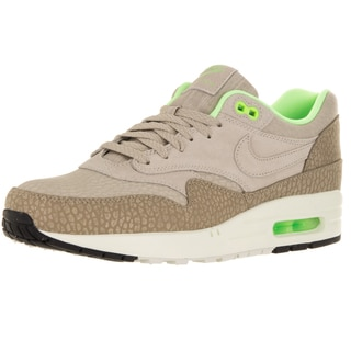 Nike Men's Air Max 1 Prm String/String/Dsrt Cm/Green Running Shoe