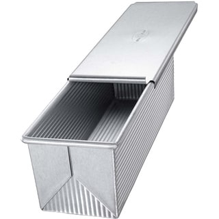 Pullman Aluminized Steel Loaf Pan and Cover