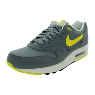 Nike Men's Air Max 1 Cool Grey/Sonic Yellow/Black/Sl Running Shoe