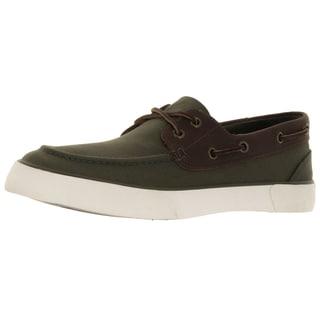 Polo Ralph Lauren Men's Rylander Olive/Tan Boat Shoe