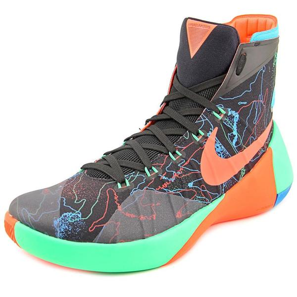 34f28efb0965 Shop Nike Men s Hyperdunk 2015 Prm Black  Orange G Shock Basketball ...