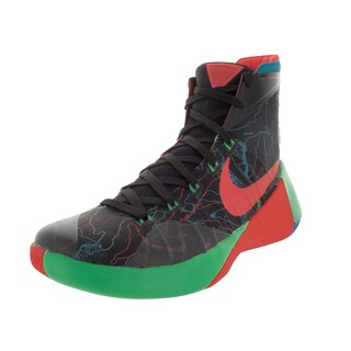 Nike Men's Hyperdunk 2015 Prm Black/ Orange/G Shck Basketball Shoe