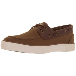 Polo Ralph Lauren Men's Rylander Khaki/Tan Boat Shoe