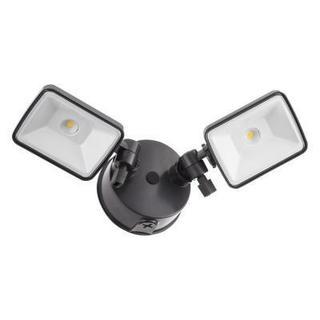 Lithonia Lighting OLF 2SH 40K 120 BZ M4 Bronze Aluminum Outdoor 2-head LED Square Flood Light