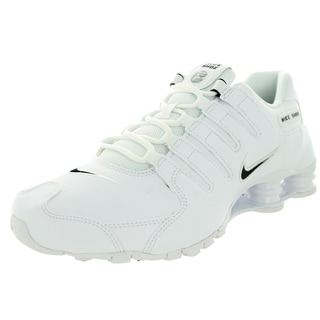 Nike Men's Shox Nz Eu White/Black/White Running Shoe