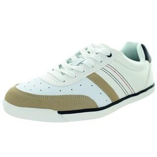 Tommy Hilfiger Men's Warsaw White Multi Casual Shoe