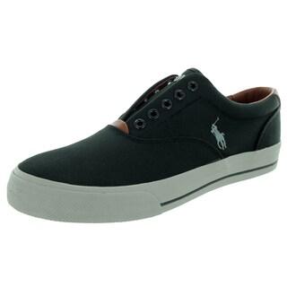 Polo Ralph Lauren Men's Vito Polo Black Casual Shoe