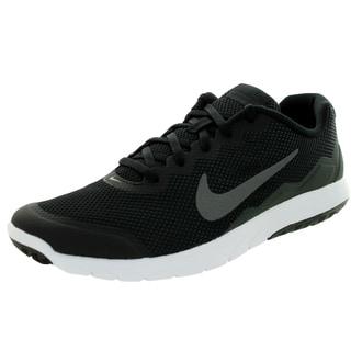 Nike Men's Flex Experience 4 Black/ Dark Grey/Anthrct/White Running Shoe