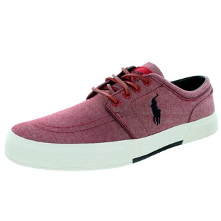 Polo Ralph Lauren Men's Faxon Low Red Casual Shoe