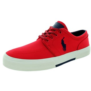 Polo Ralph Lauren Men's Faxon Low Rl2000 Red Casual Shoe