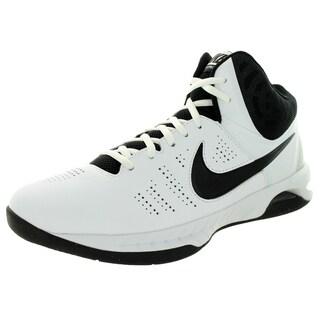 Nike Men's Air Visi Pro Vi White/Black/Cool Grey Basketball Shoe