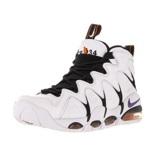 Nike Men's Air Max Cb34 White/Vrsty Purple/Black/Orange Blz Basketball Shoe