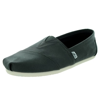 Toms Men's Classic Coated Canvas Tarmac Olive Casual Shoe