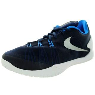 Nike Men's Hyperchase Tb Mid Navy/Metallic Silver/White/Pht B Basketball Shoe