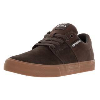Supra Men's Stacks Vulc Ii Coffee/Gum Skate Shoe