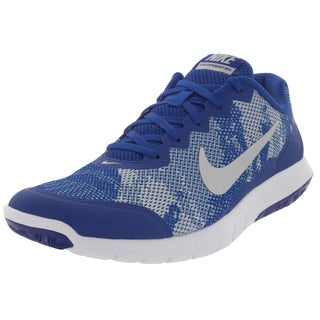 Nike Men's Flex Experience 4 Prem Game Royal/Metallic Silver/White Running Shoe