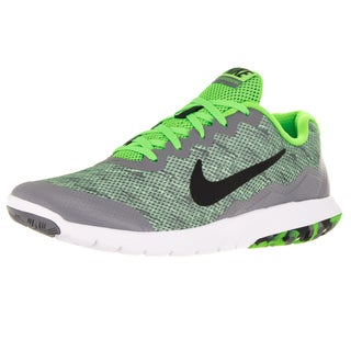 Nike Men's Flex Experience 4 Prem Electric Green/Black/Cl Grey/White Running Shoe