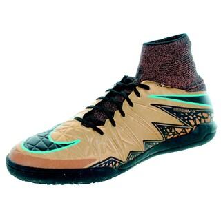 Nike Men's Hypervenomx Proximo Ic Rd Bz/Black/Black/White/G Glw Indoor Soccer Shoe