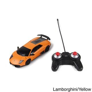 Lamborghini Multicolor Same Body Styling 1:24 Scale Remote Control License Sport Cars