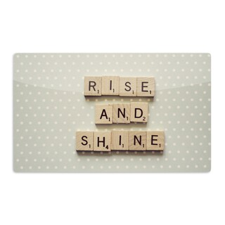 KESS InHouse Cristina Mitchell 'Rise and Shine' Artistic Aluminum Magnet