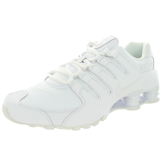Nike Men's Shox Nz White/White Running Shoe