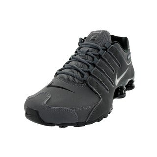 Nike Men's Shox Nz Dark Grey/ I Or/Anthrct/Bl Running Shoe