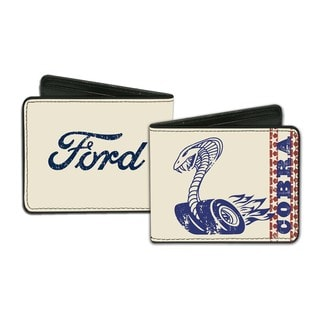 Ford Men's Faux-leather Cobra Wallet