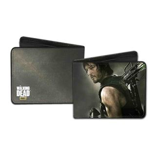 Men's Walking Dead Daryl Multicolor Faux Leather Wallet