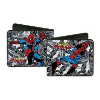Men's Spider-Man Multicolor Faux Leather Wallet