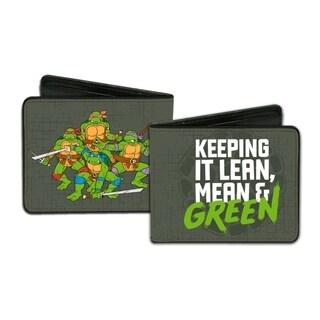 Teenage Mutant Ninja Turtles Men's Multicolor Faux Leather Wallet