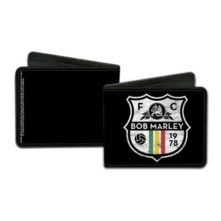 Men's Bob Marley FC Multicolor Faux-leather Wallet