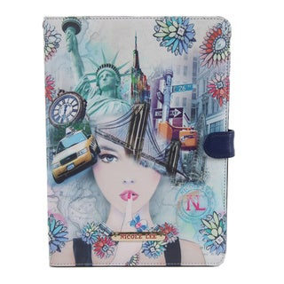 Nicole Lee New York New York Mulicolored Plastic/Synthetic Leather iPad Mini Case