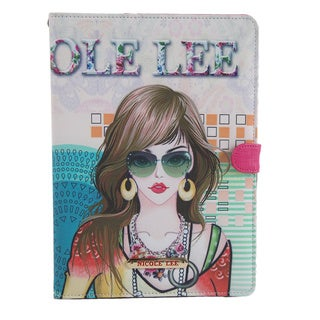 Nicole Lee Suzy Multicolored Faux-leather Ipad Mini Case