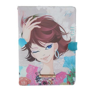 Nicole Lee Multicolored Plastic/Synthetic Leather Xochil Print iPad Mini Case