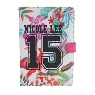 Nicole Lee 15 Multicolor Plastic, Synthetic Leather iPad Mini Case