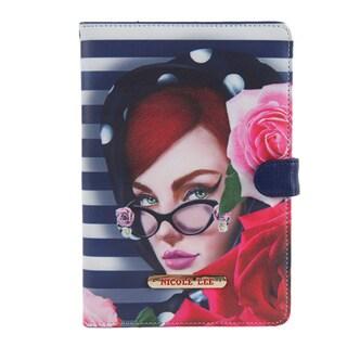 Nicole Lee Lady in Red Print Ipad mini Case