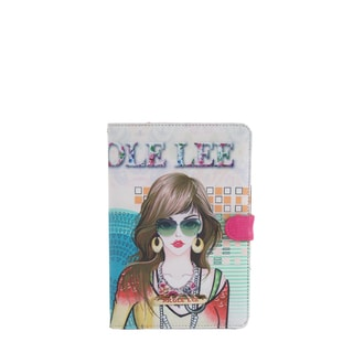 Nicole Lee Multicolor Plastic/Synthetic Leather Suzy Print iPad Mini Case