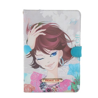 Nicole Lee Multicolor Plastic/Synthetic Leather Xochil Print iPad mini Case