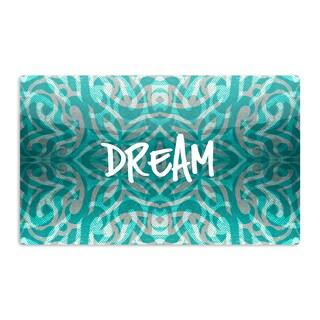KESS InHouse Caleb Troy 'Tattooed Dreams' Artistic Aluminum Magnet